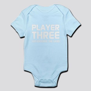 Player Three Has Entered The Game Body Suit