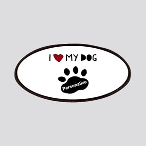 Personalized Dog Patch