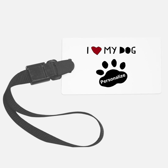 Personalized Dog Luggage Tag