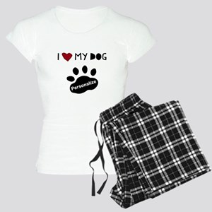 Personalized Dog Women's Light Pajamas