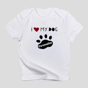Personalized Dog Infant T-Shirt