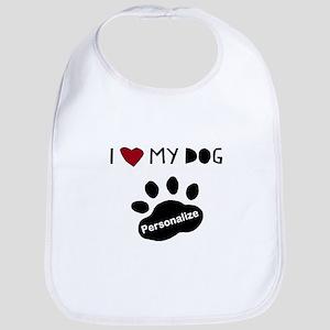 Personalized Dog Bib