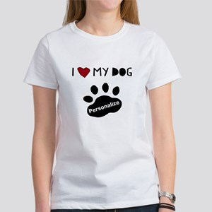 Personalized Dog Women's T-Shirt