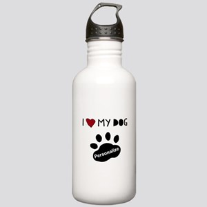 Personalized Dog Stainless Water Bottle 1.0L