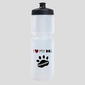 Personalized Dog Sports Bottle