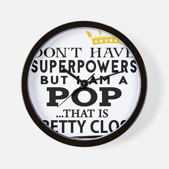 SUPER POP! Wall Clock
