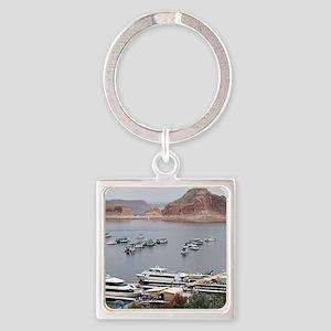Lake Powell Marina, Arizona, USA Keychains