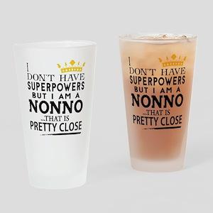SUPER NONNO! Drinking Glass