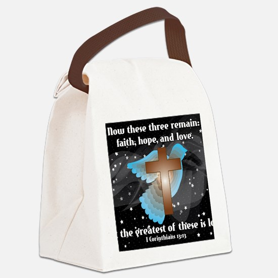 Cool Bible Canvas Lunch Bag