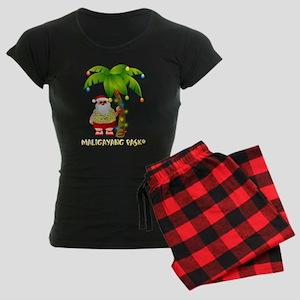 Maligayang Pasko Women's Dark Pajamas