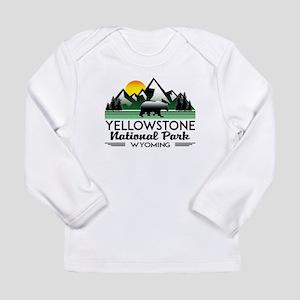 YELLOWSTONE NATIONAL PARK WYOM Long Sleeve T-Shirt