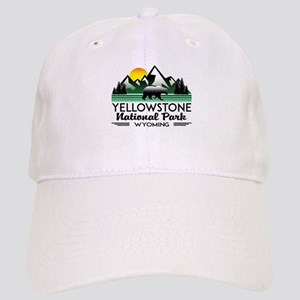 YELLOWSTONE NATIONAL PARK WYOMING MOUNTAINS EX Cap