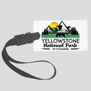 YELLOWSTONE NATIONAL PARK WYOMIN Large Luggage Tag