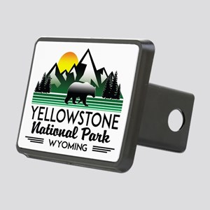 YELLOWSTONE NATIONAL PARK Rectangular Hitch Cover