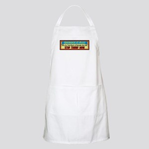 Stop Trump Now Apron