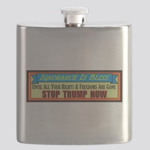 Stop Trump Now Flask