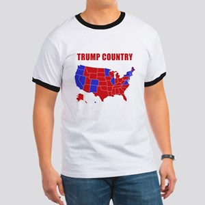 Trump Country Ringer T