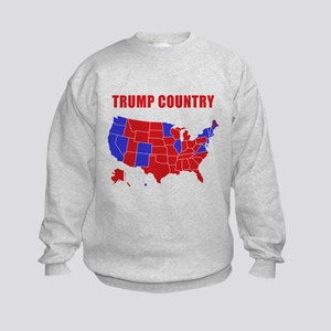 Trump Country Kids Sweatshirt