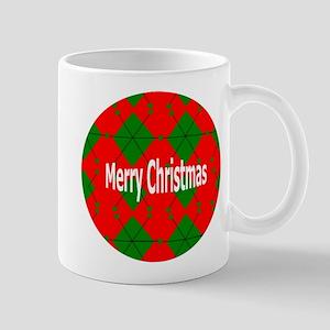 Christmas Collection Argyle Mugs