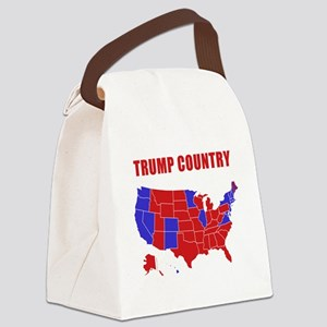 Trump Country Canvas Lunch Bag