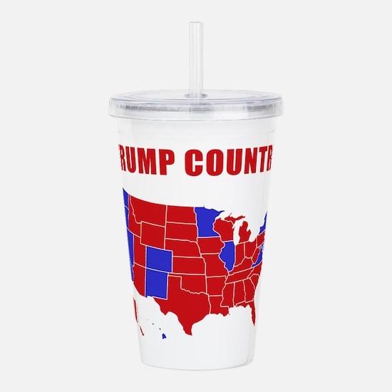 Trump Country Acrylic Double-wall Tumbler