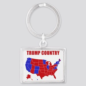 Trump Country Landscape Keychain