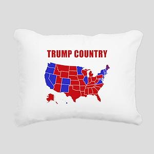 Trump Country Rectangular Canvas Pillow