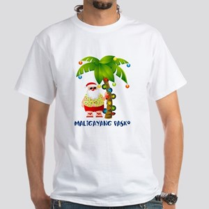 Maligayang Pasko White T-Shirt