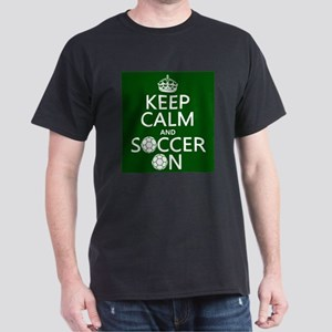 Keep Calm and Soccer On T-Shirt