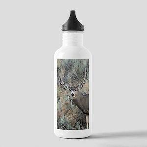 Utah mule deer buck Stainless Water Bottle 1.0L