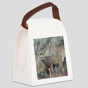 Utah mule deer buck Canvas Lunch Bag