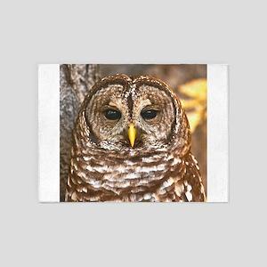 Barred Owl 5'x7'Area Rug