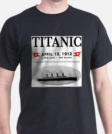 TG2 Ghost Boat 12x12-3 T-Shirt