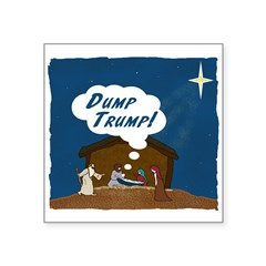 Star Of Bethlehem Dump Trump Sticker