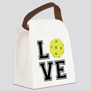 Love Pickleball Canvas Lunch Bag