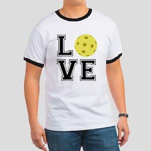 Love Pickleball Ringer T