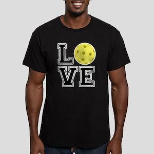 Love Pickleball Men's Fitted T-Shirt (dark)