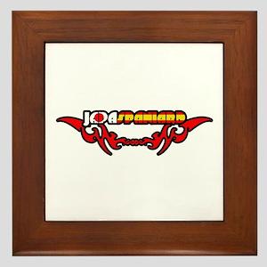 Japaspaniard Framed Tile