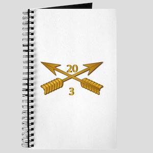 3rd Bn 20th SFG Branch wo Txt Journal