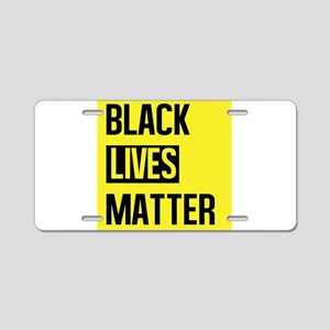 Black Lives Matter Aluminum License Plate