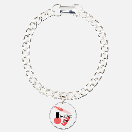 Personalizable Manicure Set Mani Pedi Bracelet