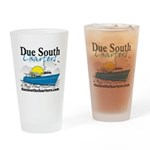 Due South Drinking Glass