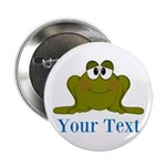 Personalizable Blue Frog 2.25