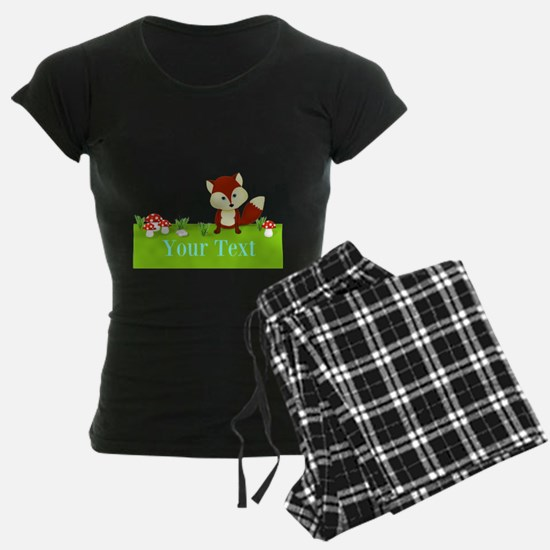 Personalizable Fox in the Woods Pajamas