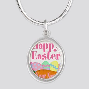 Happy Easter Carrot and Eggs Necklaces