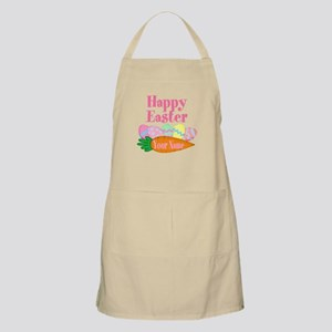 Happy Easter Carrot and Eggs Apron