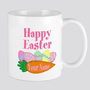 Happy Easter Carrot and Eggs Mugs