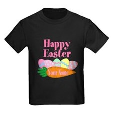 Happy Easter Carrot and Eggs T-Shirt