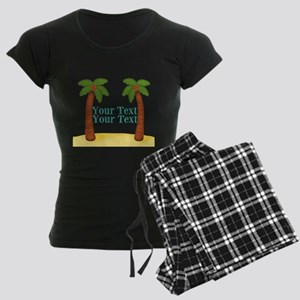 Personalizable Palm Trees Pajamas