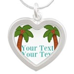 Personalizable Palm Trees Necklaces